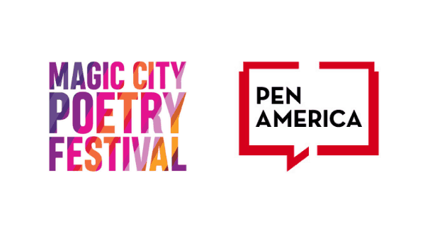 2019 Magic City Poetry Festival with PEN America logo