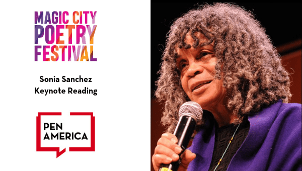 Magic City Poetry Festival: Sonia Sanchez Keynote Reading Flyer