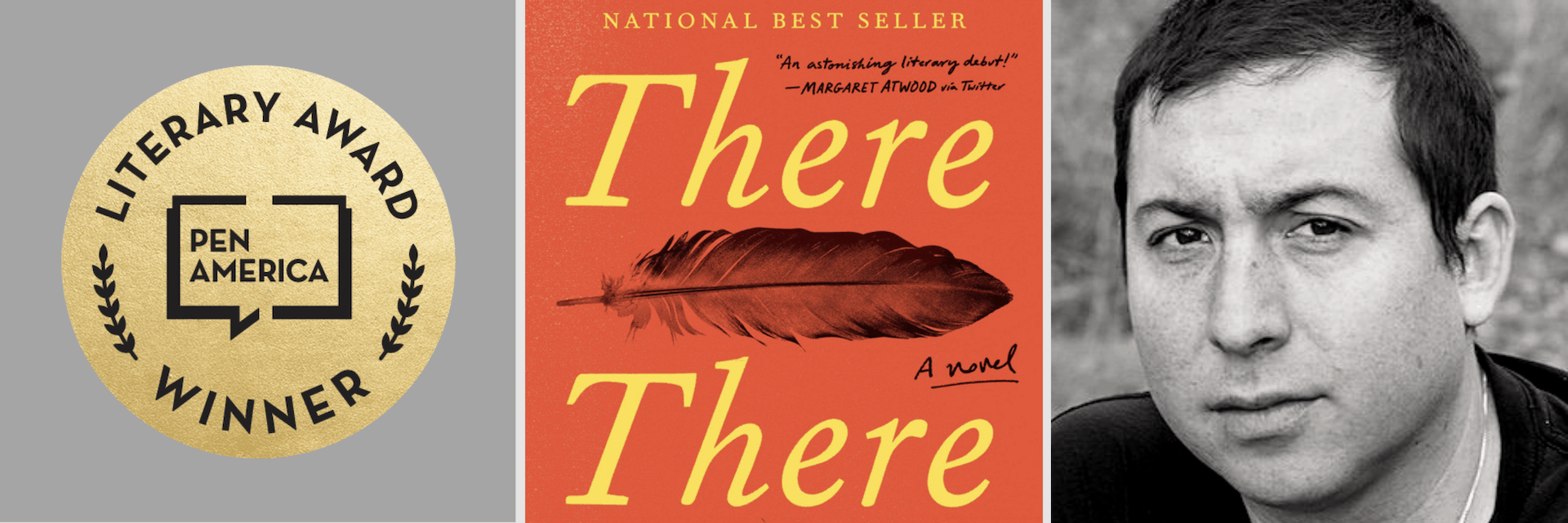 2019 PEN/Hemingway Award winner There There by Tommy Orange