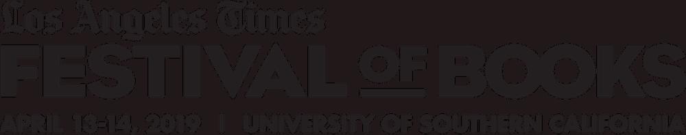 2019 LA Times Festival Of Books Logo