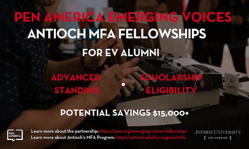 Emerging Voices Fellowship - PEN America