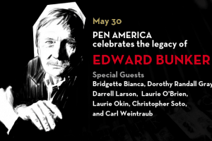 Edward Bunker event Flyer