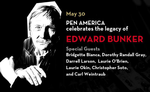 Edward Bunker event Flyer
