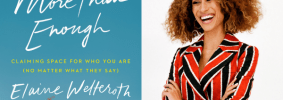 More Than Enough book cover and author Elaine Welteroth