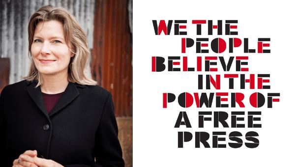 World Press Freedom Day: Chicago, IL with Jennifer Egan Photo