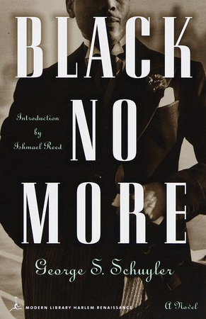 cover for Black No More by George S. Schuyler