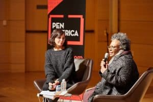 Layli Long Soldier and Claudia Rankine in conversation at PEN Out Loud