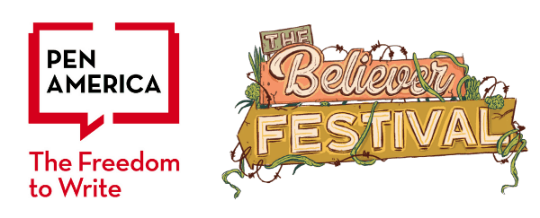 PEN America and The Believer Festival logos