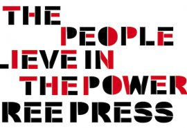 we the people believe in the power of a free press