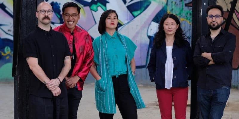 2019 Emerging Voices Fellows at the Virgil Event