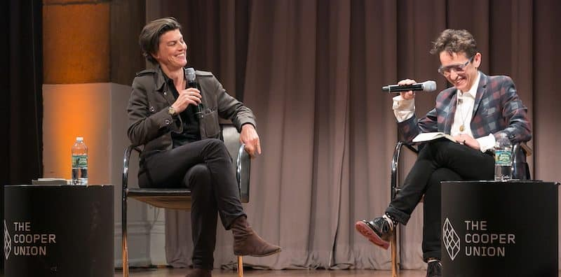 Masha Gessen and Carolin Emcke at the Festival event Laws of Desire