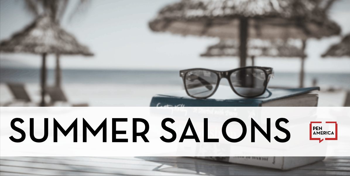 Summer Salons event series graphic