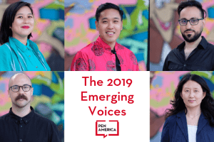 headshots of the 2019 Emerging Voices Fellows