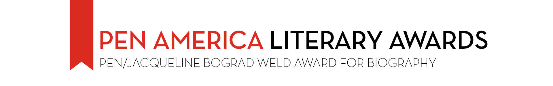 PEN/Jacqueline Bograd Weld Award for Biography