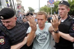 Ivan Golunov being detained