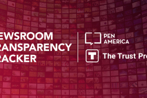 Newsroom Transparency Tracker Logo
