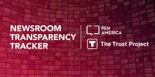 Newsroom Transparency Tracker Empowers the Public in an Age of Distrust