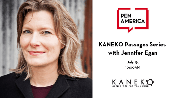 KANEKO Passages Series With Jennifer Egan Image
