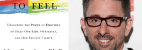 Marc Brackett headshot and cover of Permission to Feel
