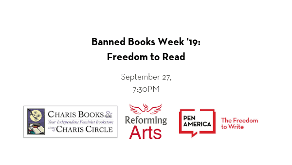 Banned Books Week 2019: Freedom To Read