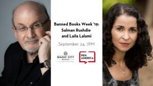 Banned Books Week 2019 Salman Rushdie And Laila Lalami