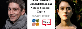 AJC Decatur Festival 2019 Poetry Reading Richard Blanco And Natalie Scenters Zapico Image