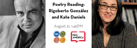 AJC-Decatur Festival 2019 Poetry Reading Rigoberto González and Kate Daniels