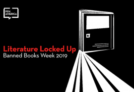 Literature Locked Up Banned Books Week 2019 image