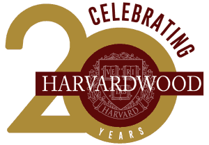 Harvardwood logo