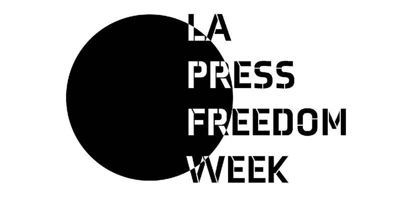 LA Press Freedom Week logo
