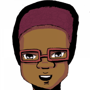 illustrated headshot of Nik Wesson