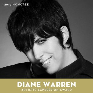2019 Artistic Expression Award honoree: Diane Warren