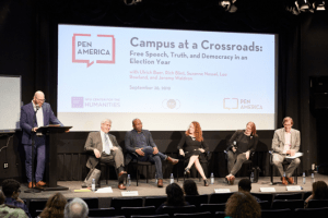 Campus at a Crossroads: Free Speech, Truth, and Democracy in an Election Year