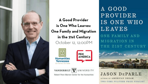 Southern Festival of Books: A Good Provider is One Who Leaves: One Family and Migration in the 21st Century event image