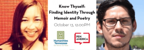 Southern Festival of Books 2019 Know Thyself Finding Identity Through Memoir And Poetry event page