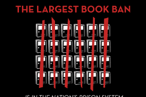 illustration for prison book ban