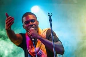 Cameroonian rapper Valsero