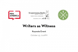 Writers As Witness Keynote