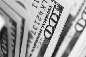 close up of $100 bills