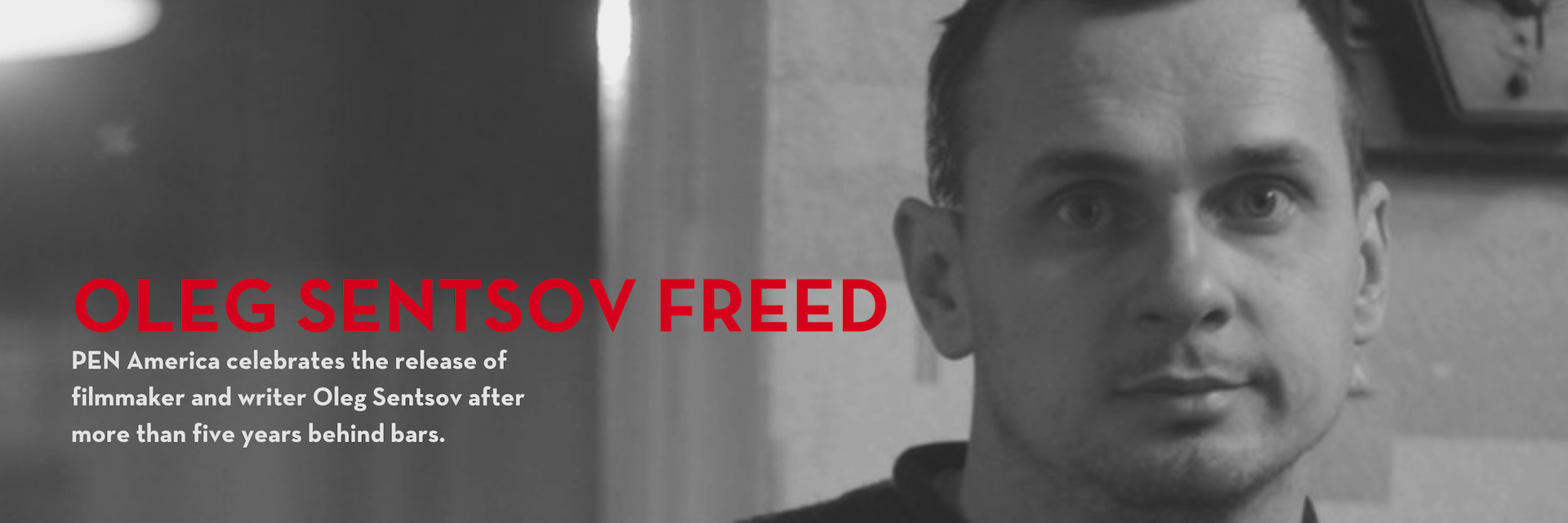 Oleg Sentsov freed