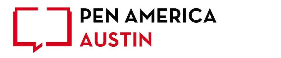 PEN America Austin chapter banner