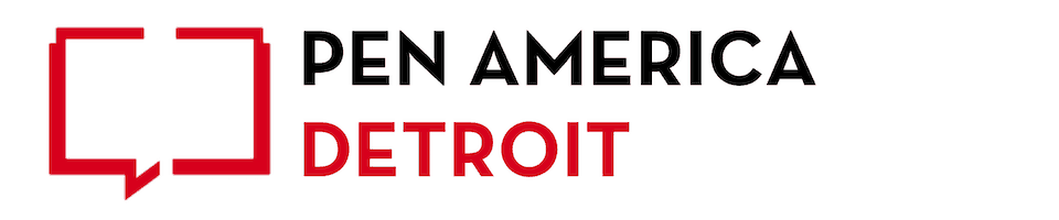 Pen America Detroit Chapter Banner