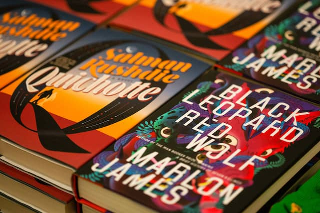 Salman Rushdie and Marlon James's books