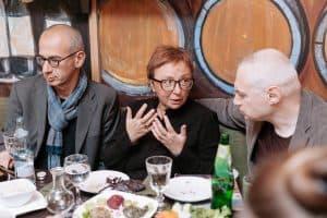 Eugene Ostashevsky, Elena Fanailova and Gleb Morev