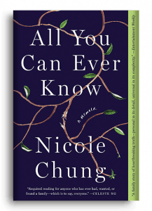 All You Can Ever Know, Nicole Chung, Book Cover