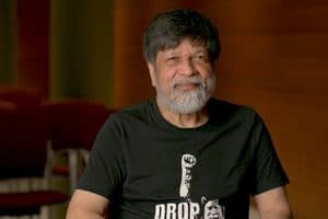 Shahidul Alam, the renowned Bangladeshi photographer, writer, activist, and institution-builder and a Time magazine Person of the Year in 2018.