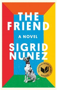 The Friend by Sigrid Nunez, Book Cover