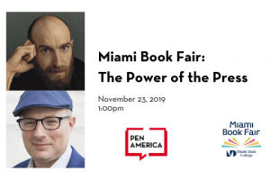 Miami Book Fair: The Power of the Press event image
