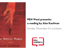 PEN West reading by Alan Kaufman event image