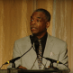 Image of LeVar Burton at podium